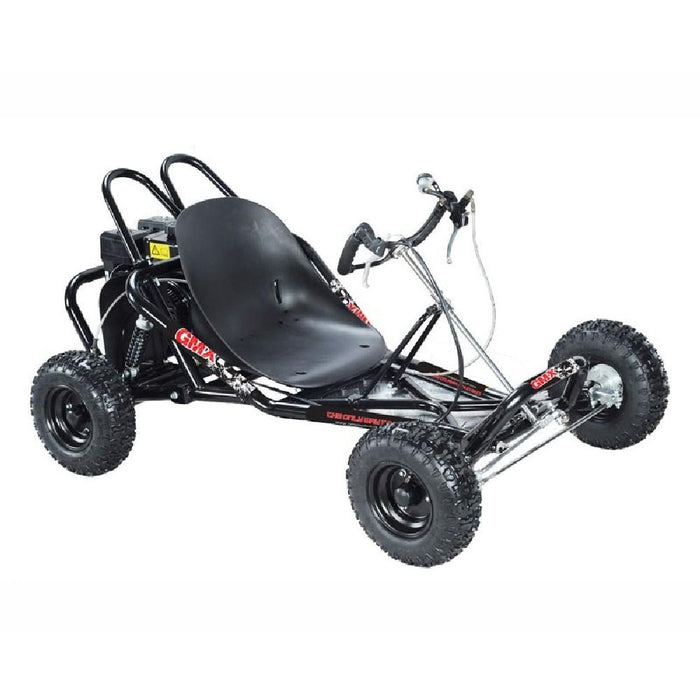 GMX Drift 200cc Petrol-Powered 4-Stroke Go Kart Electric Start - Kids Car Sales