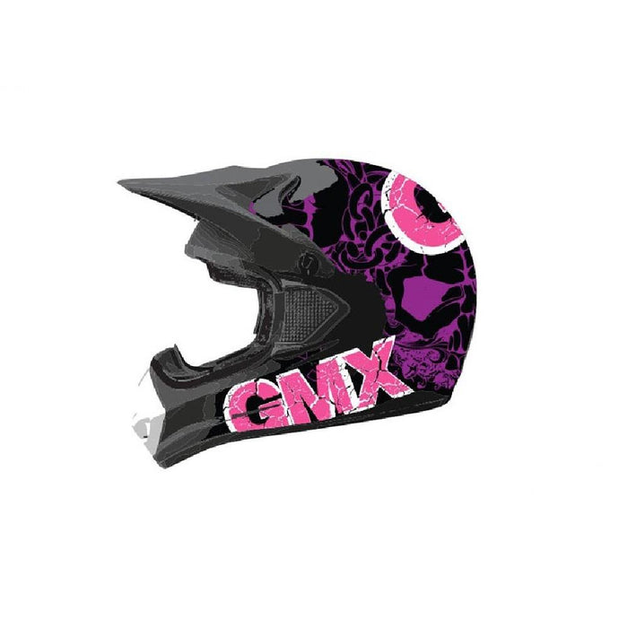 GMX Purple/Pink / Small GMX Motorcross Kids Safety Helmet GE-015-005