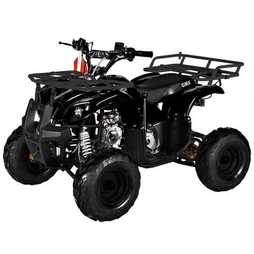 GMX Black GMX Mudder JNR 125cc Petrol-Powered 4-Stroke Farm ATV GE-YP125-BLK