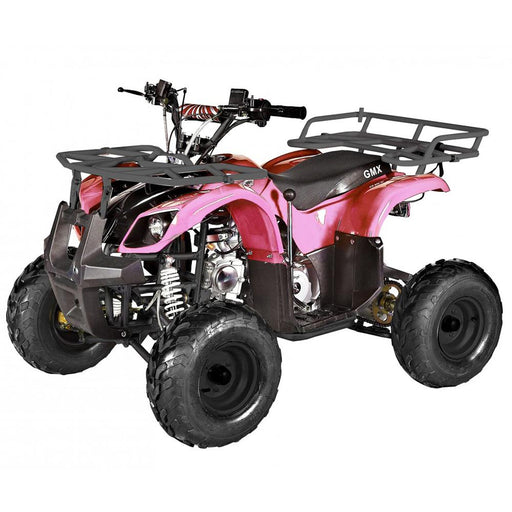 GMX Pink GMX Mudder JNR 125cc Petrol-Powered 4-Stroke Farm ATV GE-YP125-PNK