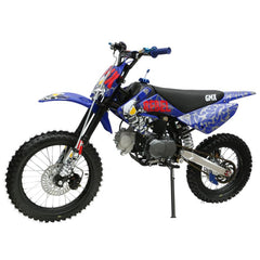 GMX Rebel 125cc Petrol-Powered 4-Stroke Dirt Bike