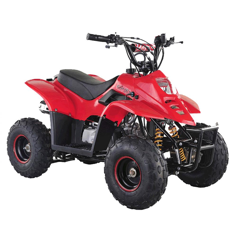 GMX GMX Ripper 110cc Petrol-Powered 4-Stroke Kids Sports Quad Bike - Red GE-YB110-RED