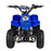 GMX GMX Ripper 70cc Petrol-Powered 4-Stroke Kids Sports Quad Bike - Blue GE-YB70-BLU