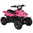 GMX GMX Ripper 70cc Petrol-Powered 4-Stroke Kids Sports Quad Bike - Pink GE-YB70-PNK
