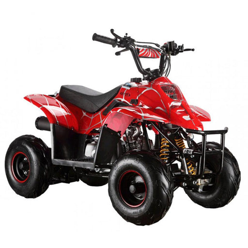 GMX Spider Red GMX Ripper 70cc Petrol-Powered 4-Stroke Kids Sports Quad Bike GE-YB70-SRD