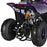 GMX GMX Ripper 70cc Petrol-Powered 4-Stroke Kids Sports Quad Bike - Purple GE-YB70-PUR