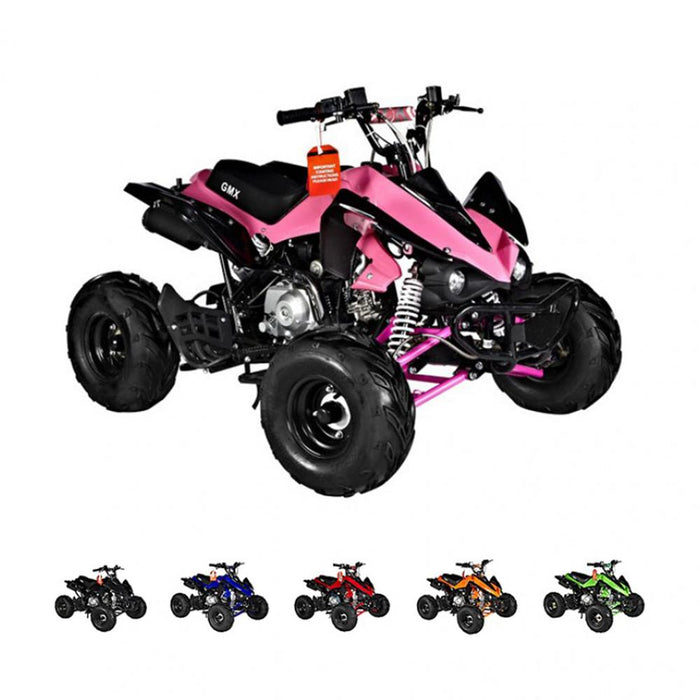 GMX Sports Zilla X 125cc Petrol-Powered 4-Stroke Sports Quad Bike - Kids Car Sales