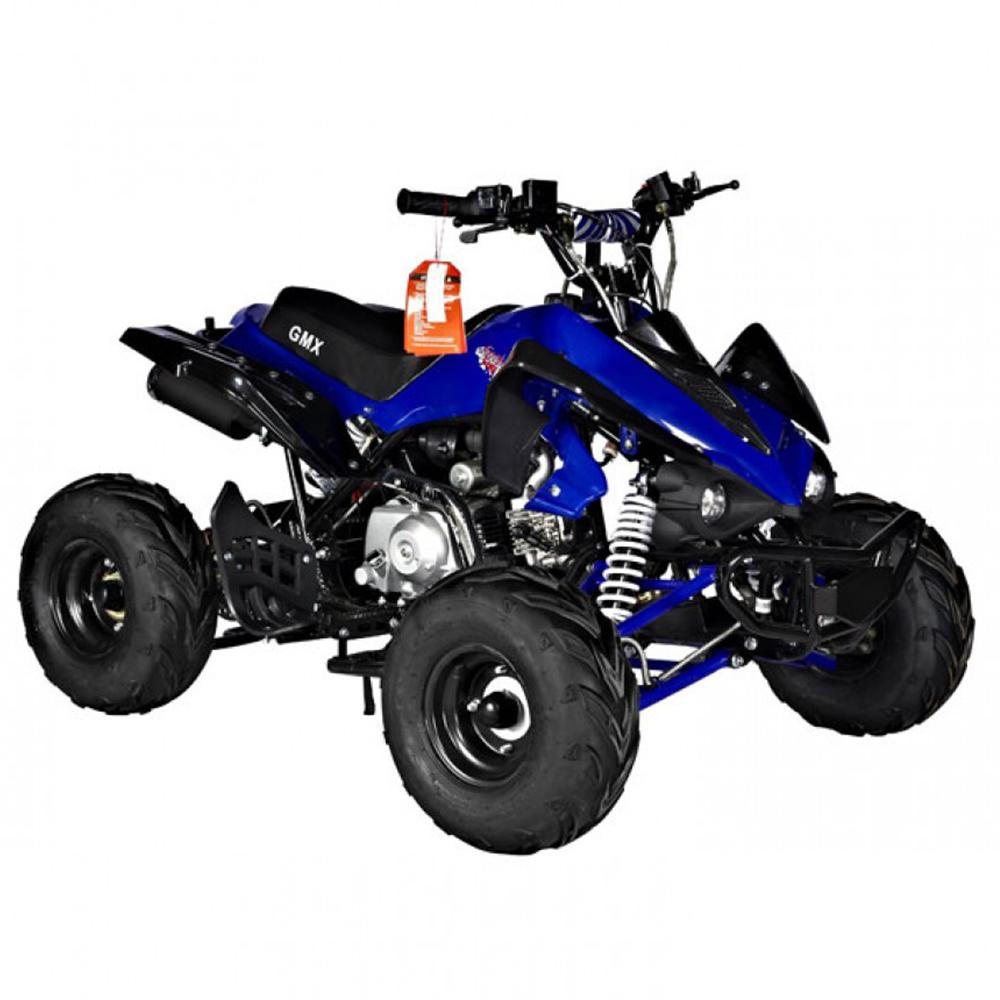 GMX GMX Sports Zilla X 125cc Petrol-Powered 4-Stroke Quad Bike - Blue GE-YH125X-BLU