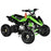GMX GMX Sports Zilla X 125cc Petrol-Powered 4-Stroke Quad Bike - Green GE-YH125X-GEN