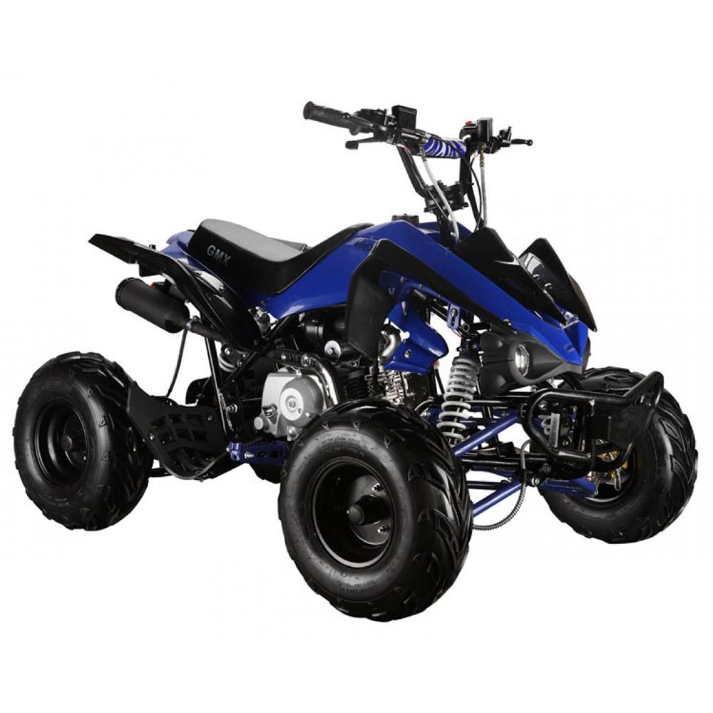 GMX GMX The Beast 110cc Petrol-Powered 4-Stroke Kids Sports Quad Bike - Blue GE-YX110-BLU