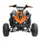 GMX GMX Beast 110cc Petrol-Powered 4-Stroke Kids Sports Quad Bike - Orange GE-YX110-ORG