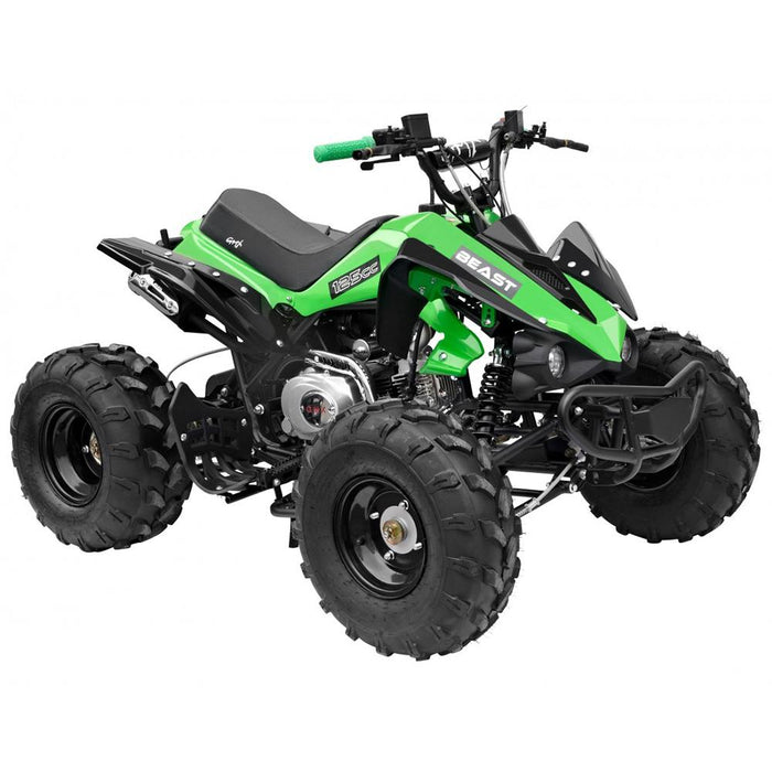 GMX GMX The Beast 125cc Petrol-Powered 4-Stroke Sports Quad Bike - Green GE-YX125-GEN