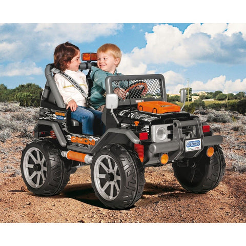 Peg Perego Gaucho Rock'in 12v Twin Seat Off-Road Kids Car - Kids Car Sales