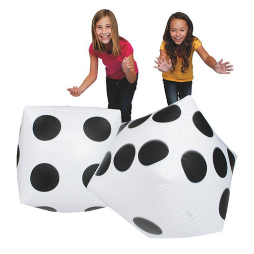 Giant 50cm Inflatable Dice - Kids Car Sales
