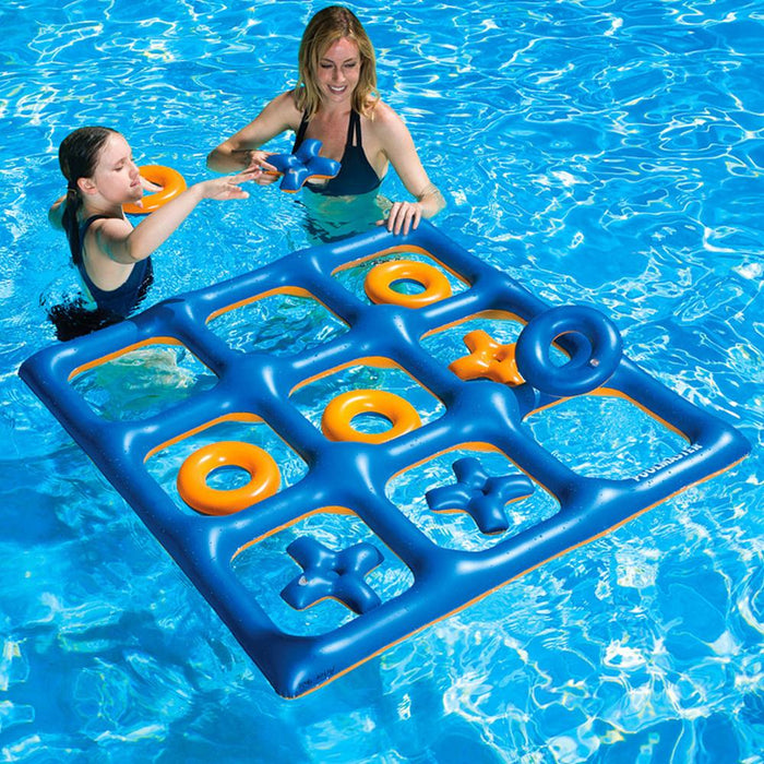 Giant Size Inflatable Tic Tac Toe Game For Pool and Land - Kids Car Sales