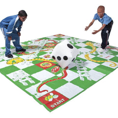 Giant Snakes and Ladders Game with Inflatable Dice - Kids Car Sales