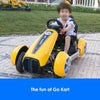 Image of Go-Kart Style 12v Ride-On Kids Car with Remote - Kids Car Sales