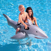 Image of Great White Shark Pool Rider Inflatable Float Toy - Kids Car Sales