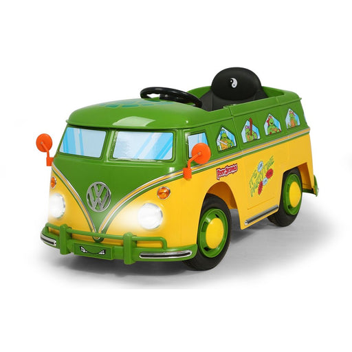 Teenage Mutant Ninja Turtle Volkswagen Kombi 6v Electric Ride On Car Kids Car - Kids Car Sales - kidscarsales.com.au