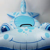 Image of Hammer Head Shark Pool Inflatable Float Toy - Kids Car Sales