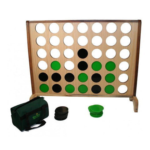 Hardwood Big 4 Supersized Giant Connect 4 Style Game 100cm x 120cm - Kids Car Sales