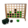 Image of Hardwood Big 4 Supersized Giant Connect 4 Style Game 100cm x 120cm - Kids Car Sales