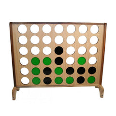 Hardwood Big 4 Supersized Giant Connect 4 Style Game 100cm x 120cm