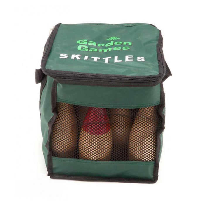 Hardwood Skittles Deluxe Set with Canvas Bag - Kids Car Sales