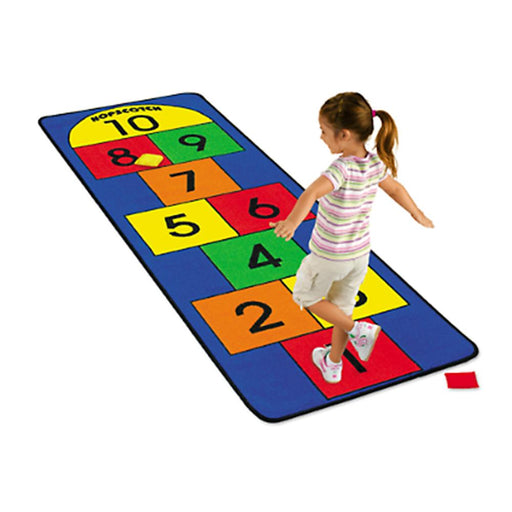 Hopscotch 65cm x 200cm Carpet with 2 x Beanbags - Kids Car Sales