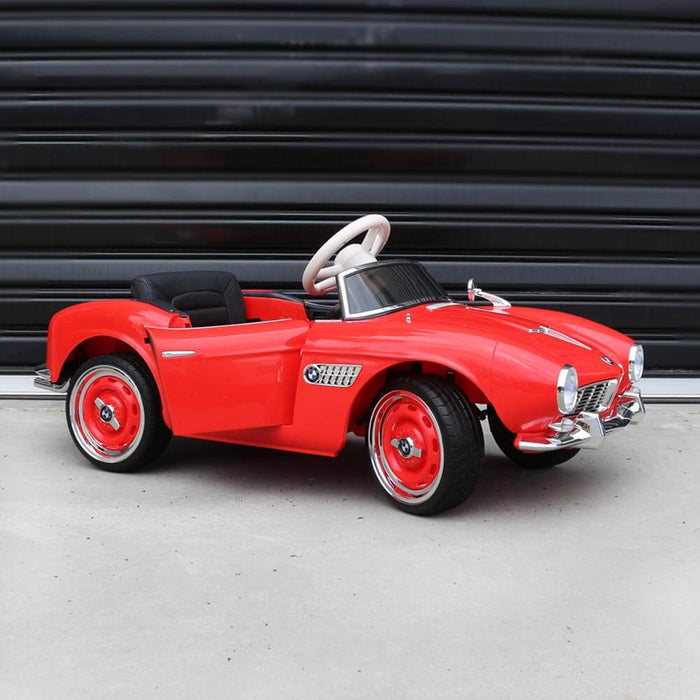 Kids Car Sales BMW 507 Roadster 1950's 12v Kids Ride-On Car w/ Remote - Red (ASSEMBLED) BJX1938-RED-ASB