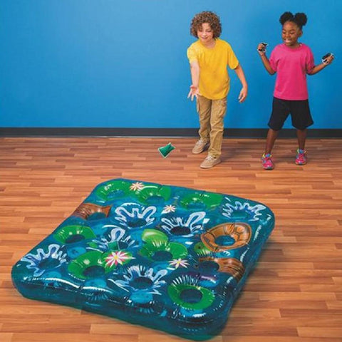 Inflatable Beanbag Frog Pond Toss Game - Kids Car Sales