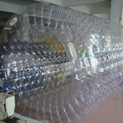 Inflatable Land and Water Roll and Running Chamber, Clear