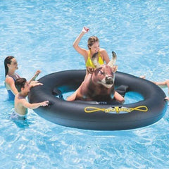 Inflatabull Rodeo Bull Ride On Water Pool Toy