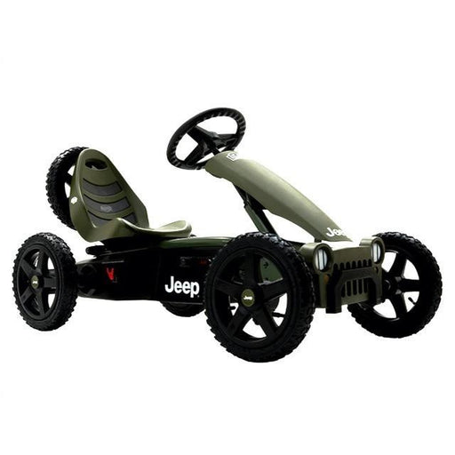 BERG Jeep Adventure Kids Ride On Pedal Kart - Kids Car Sales