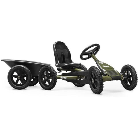 BERG Jeep Junior Kids Ride On Pedal Kart - Kids Car Sales