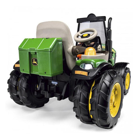 John Deere Dual Force 12v Kids Ride-On Tractor