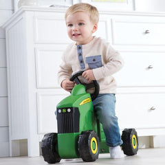 John Deere Foot To Floor Tractor With Steering Wheel Ride On Kids Toy