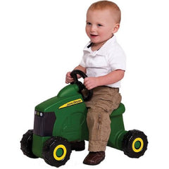 John Deere Foot To Floor Tractor With Steering Wheel Ride On Kids Toy - Kids Car Sales