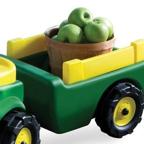 John Deere Kids Ride On Pedal Trike and Wagon Set - Kids Car Sales