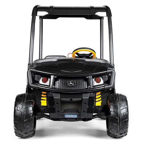 John Deere Midnight Black XUV 12V Kids Ride On Gator with Roof - Kids Car Sales