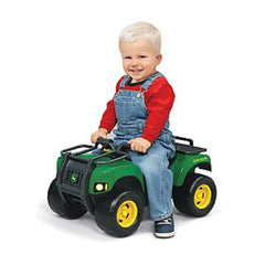 John Deere Push Power Ride on Buck ATV with Lights & Sounds - Kids Car Sales