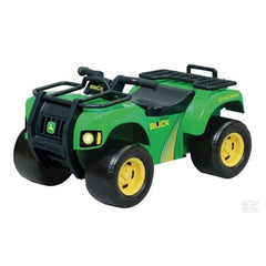 John Deere Push Power Ride on Buck ATV with Lights & Sounds