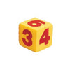 Image of Jumbo 12cm Light Foam Numbered Dice