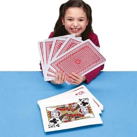 Jumbo A4 Sized Playing Cards - Kids Car Sales