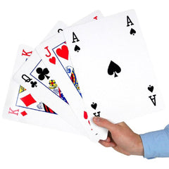 Image of Jumbo A4 Sized Playing Cards