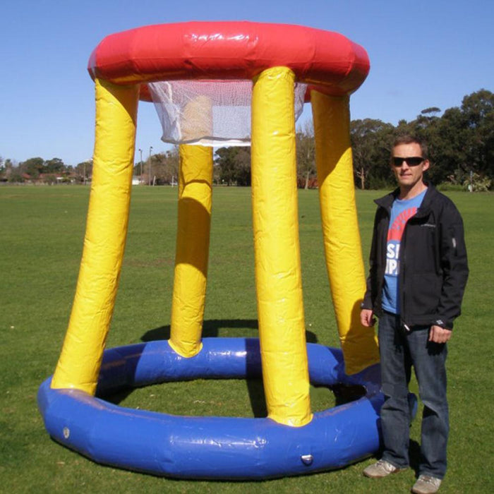 Jumbo Sized 2.5m Tall Inflatable Basketball Game - Kids Car Sales