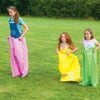 Image of Jumping Joey Sack Racing Backyard Game with 4 Coloured Sacks