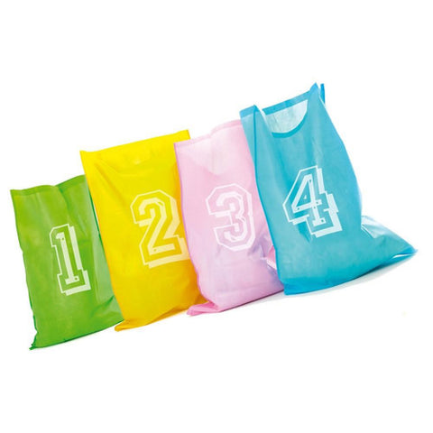 Jumping Joey Sack Racing Backyard Game with 4 Coloured Sacks