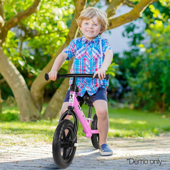 Rigo 12 Inch Kids Balance Bike - Pink - Kids Car Sales