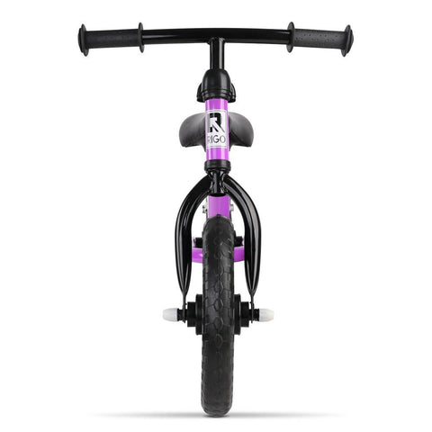 Rigo 12 Inch Kids Balance Bike - Purple